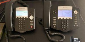 Business Phone System - 2 Phones IP550 IP450